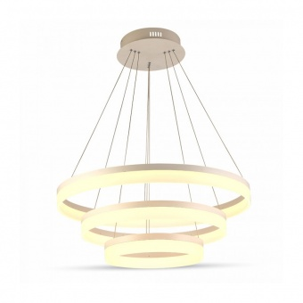 led полилей, soft light chandelier, led 80w, 3000k, 5600lm, 3906