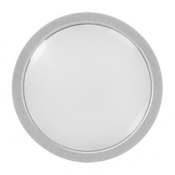 мебелна led луна за вграждане, сива, 2w, ultralux, бяла светлина, 4000k, 130lm, mllr240