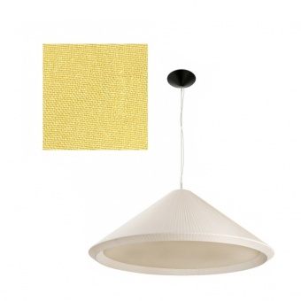 текстилен полилей, yellow, faro, hue-in, 3x15w, 20128