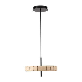 дървен пендел, black+wood, faro, phill, led 1x24w, 3000k, 2000lm, 20099