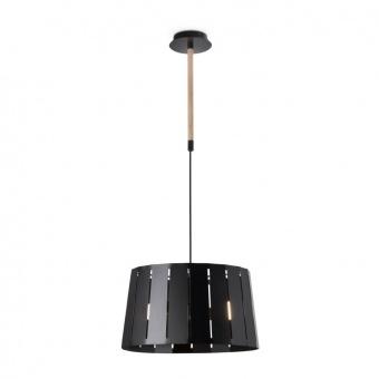 метален полилей, black+wood, faro, mix, 2x15w, 29969