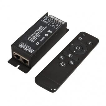 rf контролер, за едноцветна lef лента, 300w, 25a, 12-24v, ultralux, scrfc25