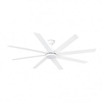 таванен вентилатор, white, faro, century, led 1x15w, 3000k, 1200lm, 6 степени на работа, 33553