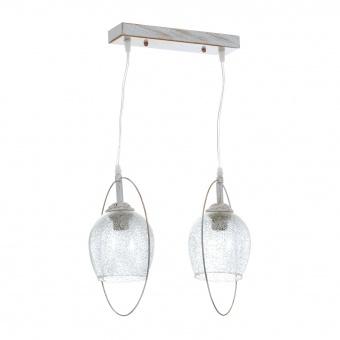 метален полилей, бял, elbulgaria, 2x40w, 1562/2p