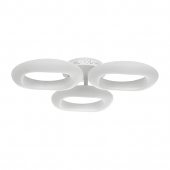 метален плафон, бял, elbulgaria, led 60w, 3000-4000-6000k, 1545/3 wh