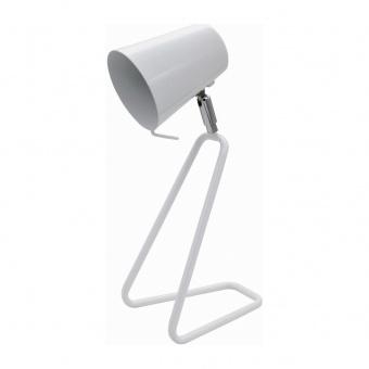 метална работна лампа, white, rabalux, olaf, 1x25w, 5777