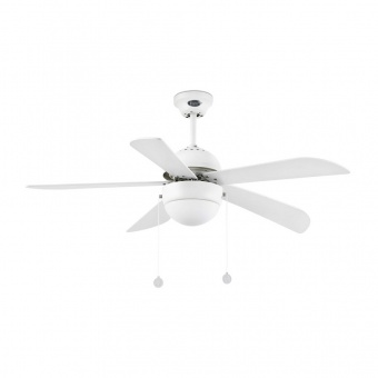 таванен вентилатор, white, faro, veneto, 1x15w, 3 степени на работа, 33318