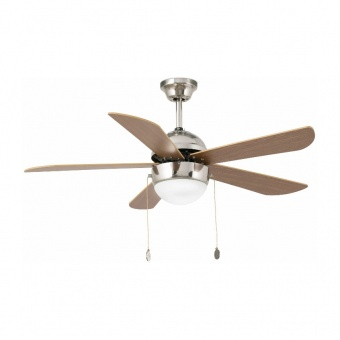 таванен вентилатор, matt nickel, faro, veneto, 1x15w, 3 степени на работа, 33319