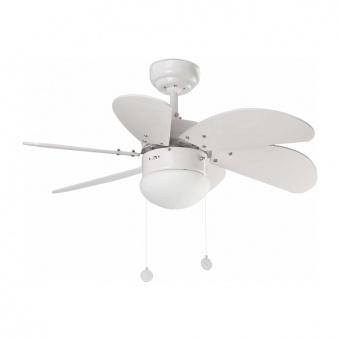 таванен вентилатор, white, faro, palao, 2x8w, 3 степени на работа, 33180