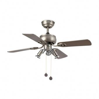 таванен вентилатор, grey, faro, galapago, 3x8w, 3 степени на работа, 33301