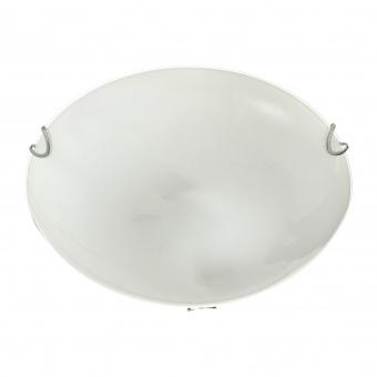 стъклен плафон, бял, elbulgaria, 2x40w, 1530/30 wh