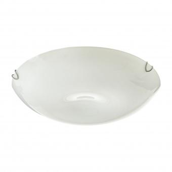 стъклен плафон, бял, elbulgaria, 3x40w, 1530/40 wh
