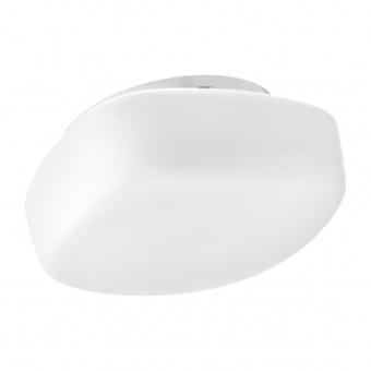 стъклен плафон, бял, elbulgaria, 2x40w, 1532/21