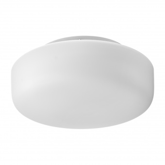 стъклен плафон, бял, elbulgaria, 2x40w, 1533/25