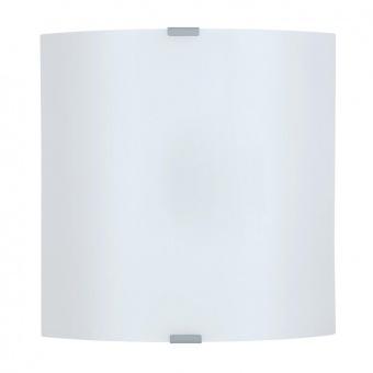 стъклен плафон, white, eglo, grafik, 1x60w, 84026
