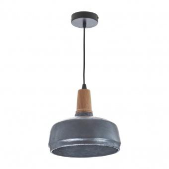 бетонен пендел, тъмно сив, elbulgaria, 1x40w, 1564 sl