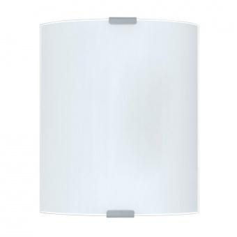 стъклен плафон, white, eglo, grafik, 1x60w, 84028