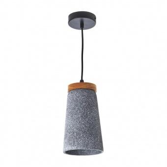 бетонен пендел,  тъмно сив, elbulgaria, 1x40w, 1566 gw