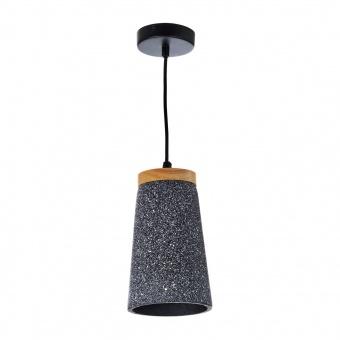 бетонен пендел, черен, elbulgaria, 1x40w, 1566 bw