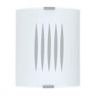 стъклен плафон, white, eglo, grafik, 1x60w, 83132