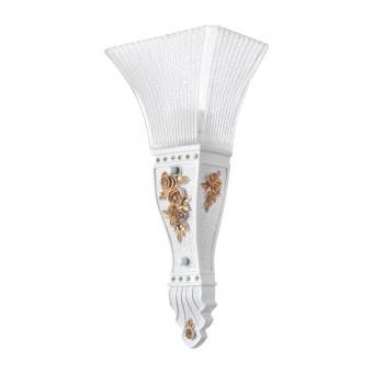акрилен аплик, бял, elbulgaria, 1x40w, 1541-s
