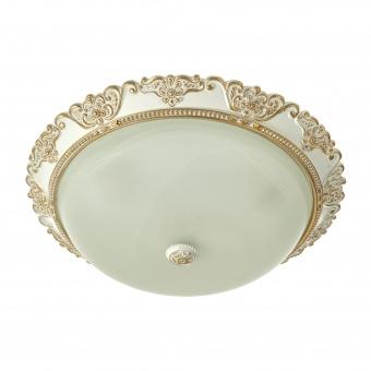 стъклен плафон, бял, elbulgaria, 3x40w, 1538a/40