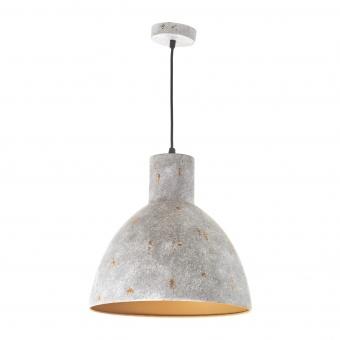 метален пендел, светло сив, elbulgaria, 1x40w, 1570a