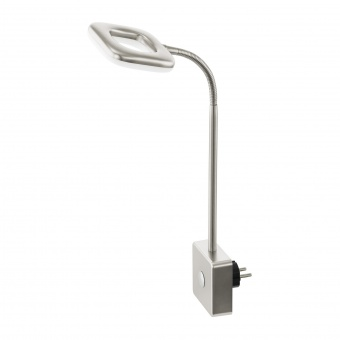 метален спот, satin nickel, eglo, litago, led 1x4w, 3000k, 1x350lm, 97015