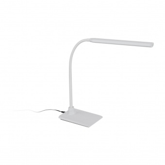 pvc настолна лампа, white, eglo, laroa, led 4.5w, 4000k, 550lm, 96435