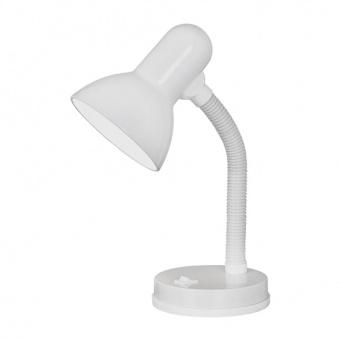 метална работна лампа, white, eglo, basic, 1x40w, 9229