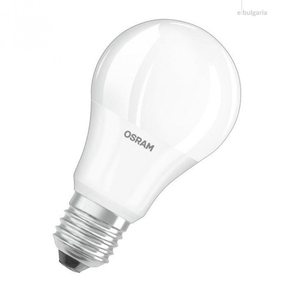 led лампа 10 w, e27, топла светлина, osram, led value classic a75, 2700k, 1055lm, 971028