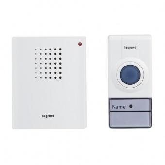 сигнален звънец, безжичен 32 мелодии, 50m., 100% wireless, legrand, 94250