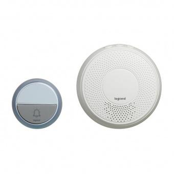 сигнален звънец, безжичен, 100m., 100% wireless, ip44, legrand, 94252