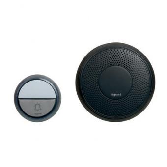 сигнален звънец, безжичен, 100m., 100% wireless, ip44, legrand, 94253