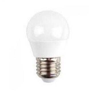 led лампа 4.5w, e27, топла светлина, g45 bulb, samsung чип, 3000k, 470lm, 261