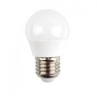 led лампа 4.5w, e27, бяла светлина, g45 bulb, samsung чип, 4000k, 470lm, 262