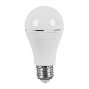 led аварийна лампа, 6w, e27, бяла светлина, ultralux,  4200k, 450lm, lbe62742