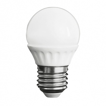 led лампа 3w, e27, топла светлина, kanlux, bilo, 3000k, 280lm, 23041