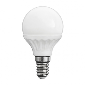 led лампа 5w, e14, топла светлина, kanlux, bilo, 3000k, 420lm, 23042
