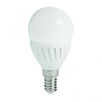 led лампа 8w, e14, топла светлина, kanlux, bilo hi, 3000k, 800lm, 26762