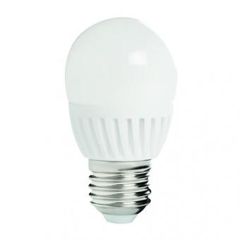 led лампа 8w, e27, топла светлина, kanlux, bilo hi, 3000k, 800lm, 26764