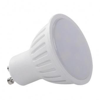 led лампа 7w, gu10, студена светлина, kanlux, tomi, 5300k, 520lm, 22820