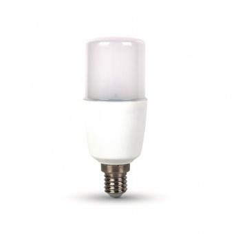 led лампа 8w, e14, студена светлина, t37, bulb, samsung чип, 6400k, 725lm, 269