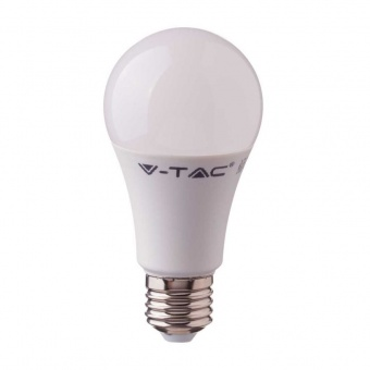 led лампа 11w, e27, топла светлина, a58 bulb, samsung чип, 3000k, 1055lm, 231