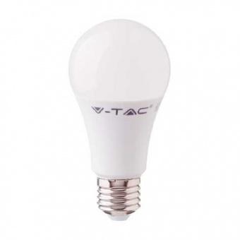 led лампа 11w, e27, студена светлина, a58 bulb, samsung чип, 6400k, 1055lm, 233