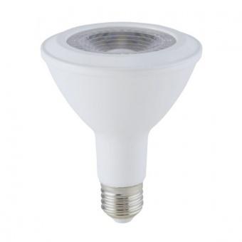 led лампа 11w,  е27, бяла светлина, par 30, bulb, samsung чип, 4000k, 825lm, 154