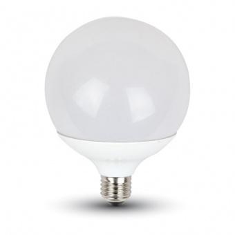 led лампа 17w, e27, топла светлина, g120, bulb, samsung чип, 3000k, 1521lm, 225