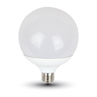 led лампа 17w, e27, студена светлина, g120, bulb, samsung чип, 6400k, 1521lm, 227
