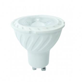 led лампа, 6,5w, gu10, топла светлина, samsung чип, 3000k, 480lm, 192