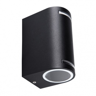 метално градинско тяло, black, kanlux, novia el 220d u/d, 2x20w, 25663